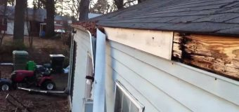 The charge for local rain gutter cleaning