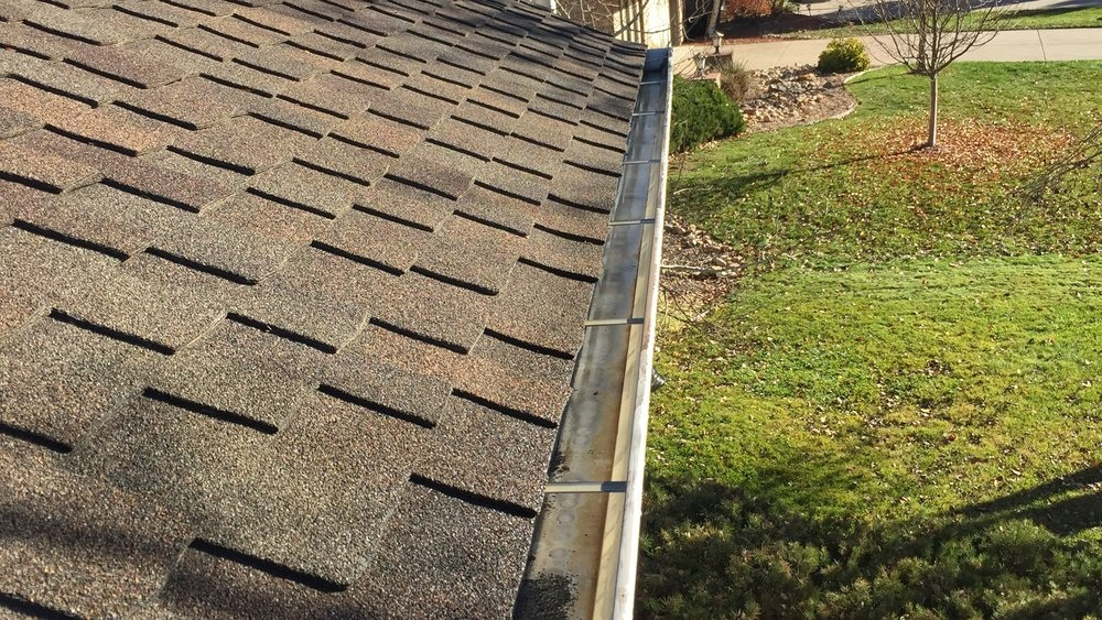 Clean gutters on a regular basis for good results