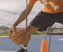 Precision crossover cone – The Basketball Training Device Your Need to Be a Great Ball Handler