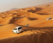 Popular places to go for desert safari