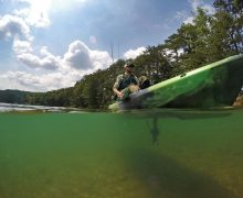 Pedal Fishing Kayak – enjoy free hand fishing with feet driven innovation