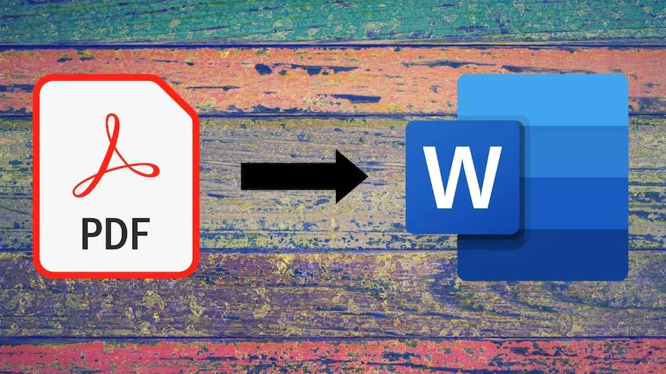How to convert pdf file into word document discussed?